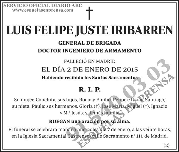 Luis Felipe Juste Iribarren